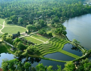 Middleton Place Aerial View