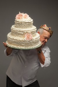THURMAN DICKEY The king of cakes is known for creating masterpieces of epic proportions.