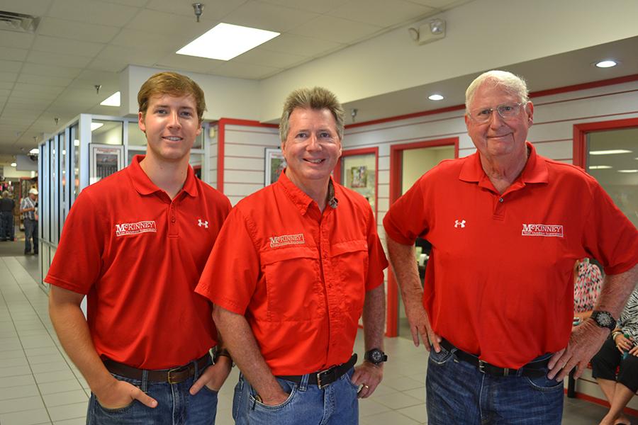 Brady, Richie And John McKinney