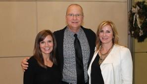 Ashley Doughty, Jay Johnson and Jennifer Johnson