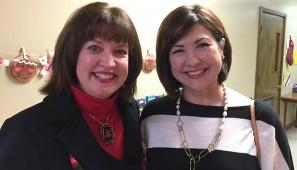 Nanette White and Judy Bennett