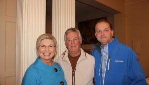 Gayla Miletello, Terry Reeves and Blake Herrington