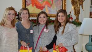 Avery Tennis, Caroline Coon, MArgaret Ann Zentner and Carly Bowman
