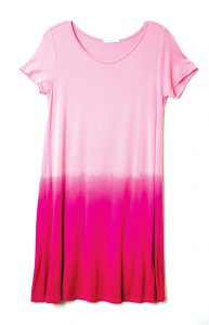DRESS - This ombré dress is a great way to stay haute on summer nights!