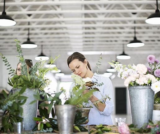 Local Social: Floral Workshop with Fine Folks
